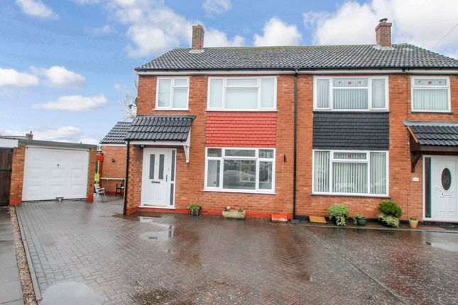 Thumbnail Semi-detached house to rent in Elms Drive, Austrey, Atherstone