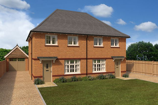 Thumbnail Semi-detached house for sale in Saxon Gardens, Low Street, Sherburn In Elme, North Yorkshire