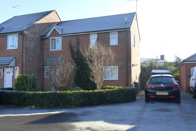 Thumbnail Semi-detached house to rent in Cameron Close, Stratton, Swindon