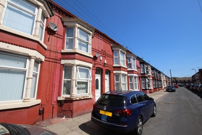 Thumbnail Terraced house to rent in Hartwell Street, Liverpool