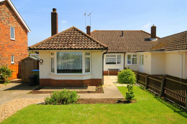 Thumbnail Semi-detached bungalow to rent in Old Manor Road, Rustington, Littlehampton