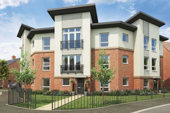 Thumbnail Flat for sale in Plot 556 Minerva, Saxon Fields, Biggleswade