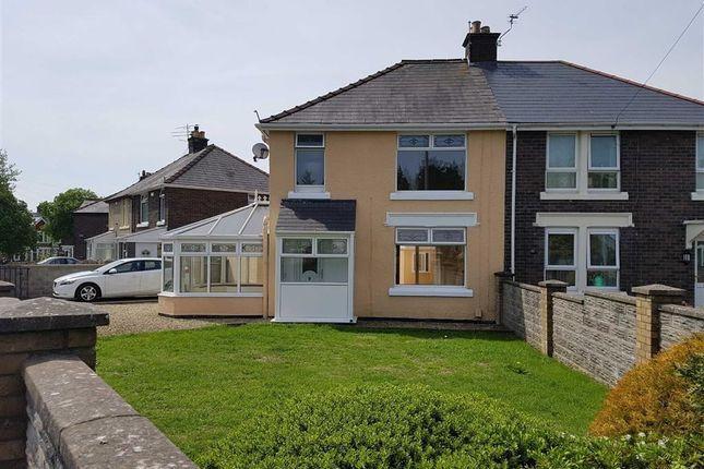 Thumbnail Semi-detached house for sale in St. Fagans Avenue, Barry