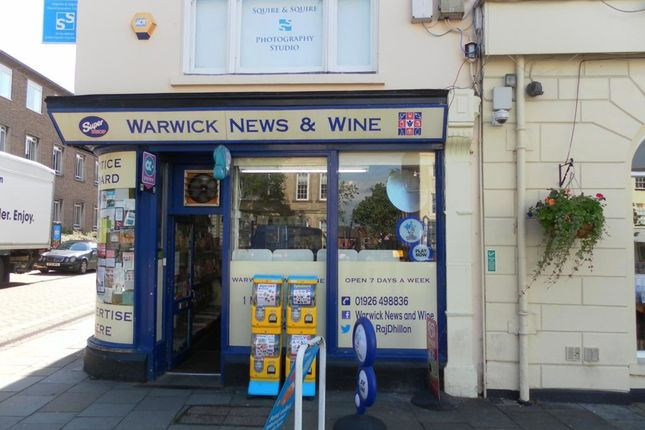 Thumbnail Retail premises for sale in Market Place, Warwick