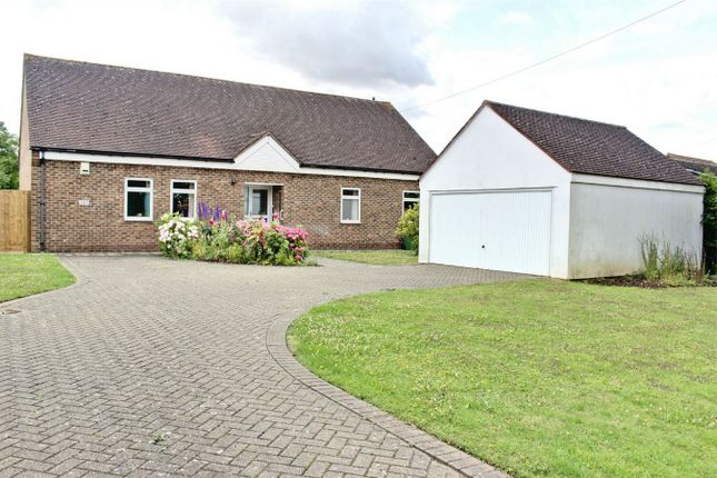 Thumbnail Detached bungalow to rent in St. Neots Road, Hardwick, Cambridge