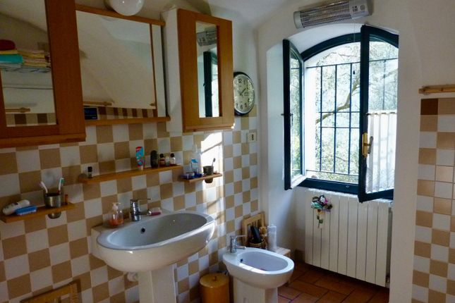 Bathroom of Balloi, Camporosso, Imperia, Liguria, Italy