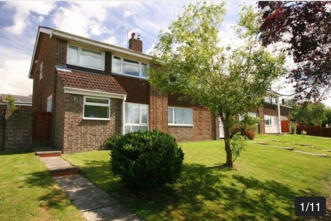 Thumbnail Semi-detached house to rent in Goldcrest Road, Chipping Sodbury, Bristol