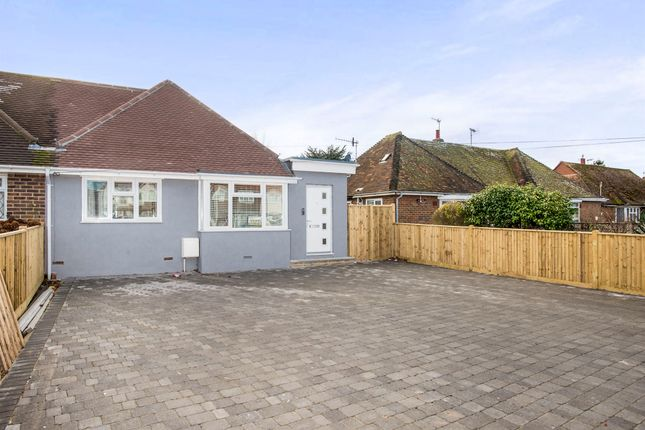 Thumbnail Semi-detached bungalow for sale in Turkey Road, Bexhill-On-Sea