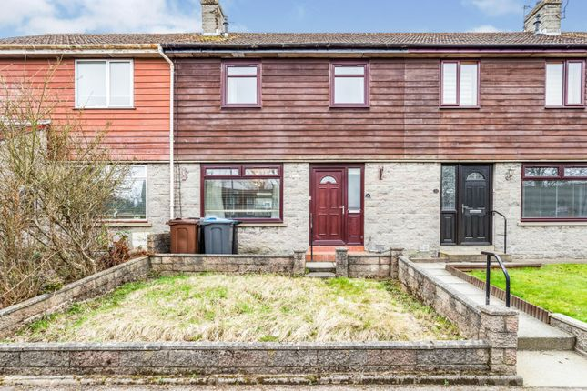 Thumbnail Terraced house for sale in Cairnvale Crescent, Aberdeen
