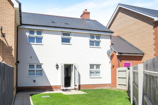 Thumbnail Terraced house for sale in Peache Road, Colchester