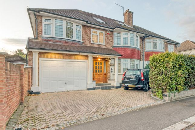 5 bed semi-detached house for sale in Hoppers Road, London N21