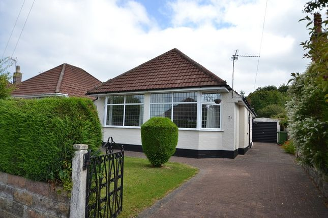 Thumbnail Detached bungalow to rent in 21 Lon-Y-Dderwen, Rhiwbina, Cardiff.