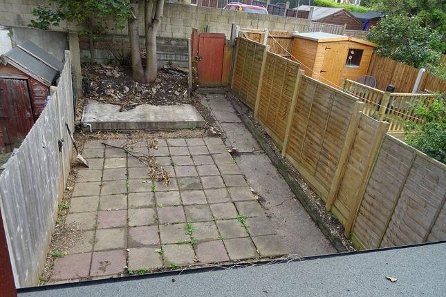 Garden of St. Leonards Avenue, Chatham, Kent. ME4