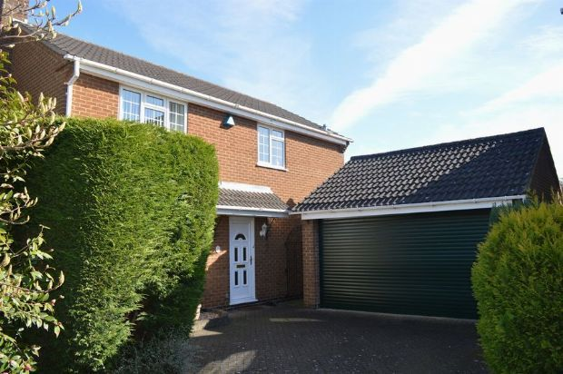 Thumbnail Detached house to rent in Ibstock Close, Off Billing Lane, Northampton