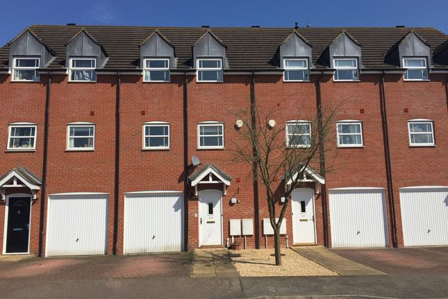 Thumbnail Town house for sale in Lime Street, Rushden
