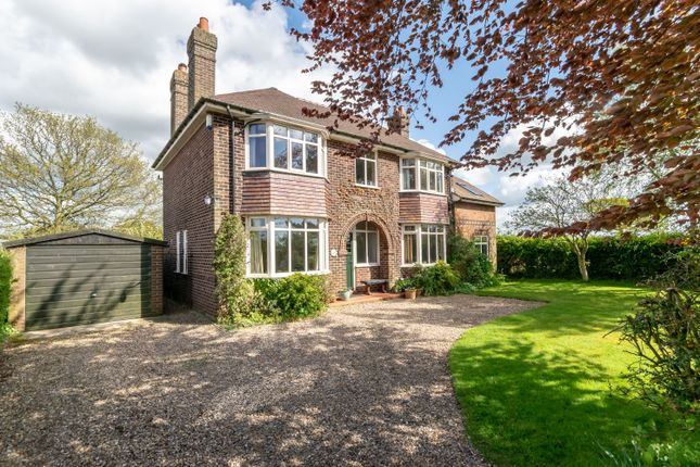Thumbnail Detached house for sale in Cinder Lane, Thelwall, Warrington, Cheshire