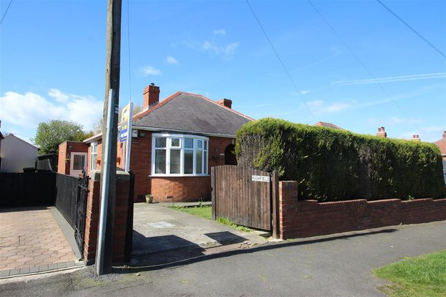 Thumbnail Bungalow for sale in 'hughfield', Burradon Road, Annitsford