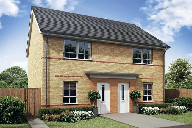 "Thumbnail Semi-detached house for sale in ""Kenley"" at Bedewell Industrial Park, Hebburn"