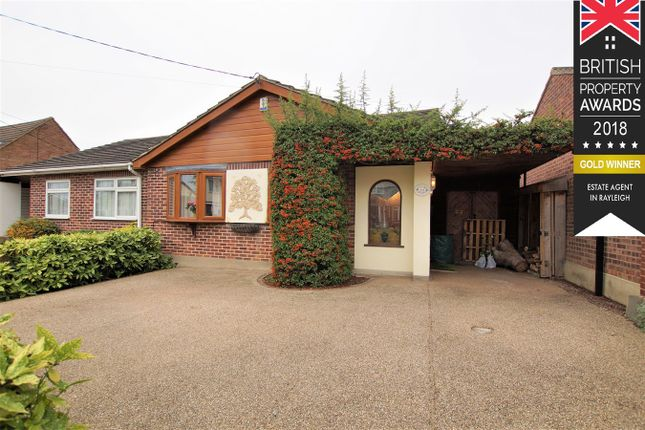 Thumbnail Semi-detached bungalow for sale in Manor Road, Benfleet