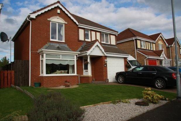 Thumbnail Detached house to rent in Baleshrae Crescent, Kilmarnock