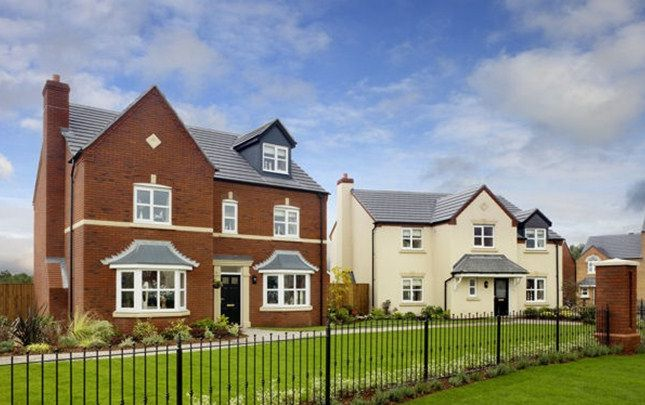 Thumbnail Detached house for sale in The Stratford A, Waterside Village, Lowfield Lane, St Helens