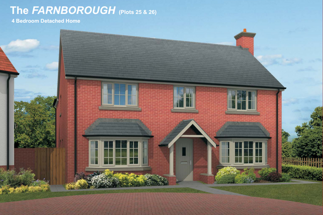 Thumbnail Detached house for sale in The Farnborough, England's Field, Bodenham, Hereford, Herefordshire