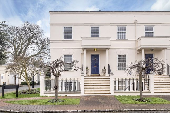 Thumbnail End terrace house for sale in Beaufort Close, London