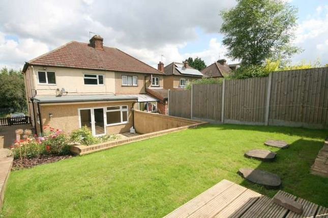 Thumbnail Semi-detached house to rent in Roughdown Avenue, Hemel Hempstead