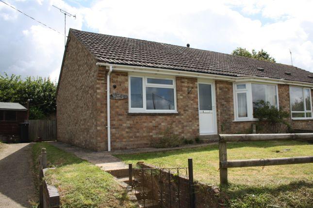 Thumbnail Semi-detached bungalow for sale in Crossways, Hazelbury Bryan, Sturminster Newton