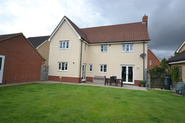 Thumbnail Detached house for sale in Pennycress Drive, Wymondham