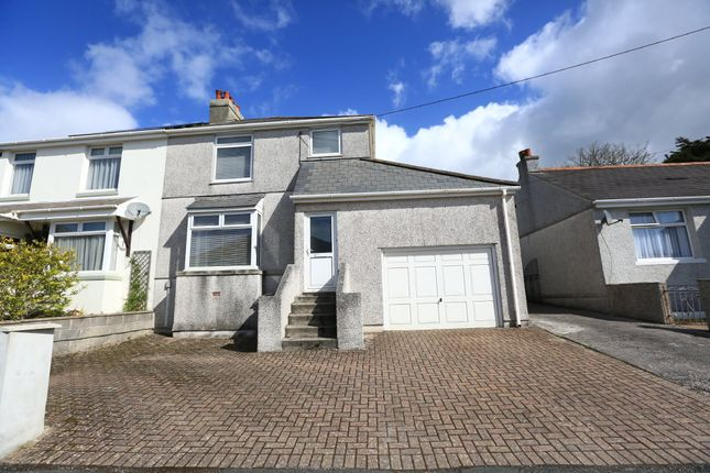 Thumbnail Semi-detached house for sale in Second Avenue, Billacombe, Plymouth