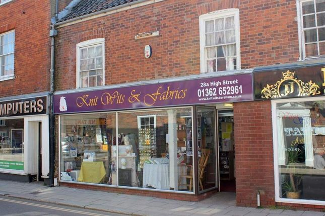 Thumbnail Retail premises for sale in Dereham, Norfolk
