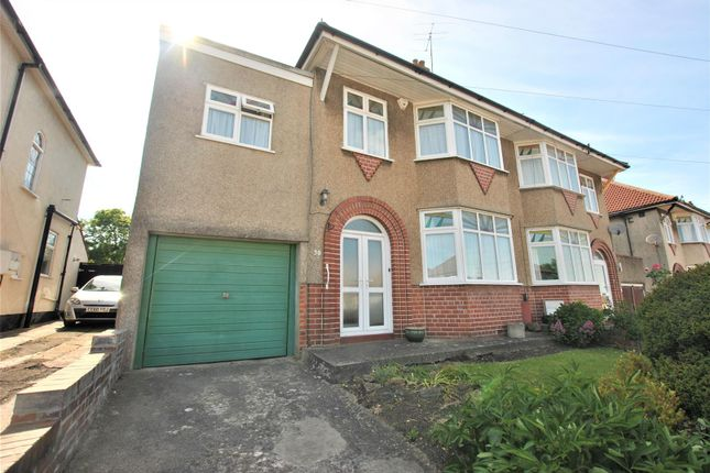 Thumbnail Semi-detached house for sale in Kinsale Road, Whitchurch, Bristol