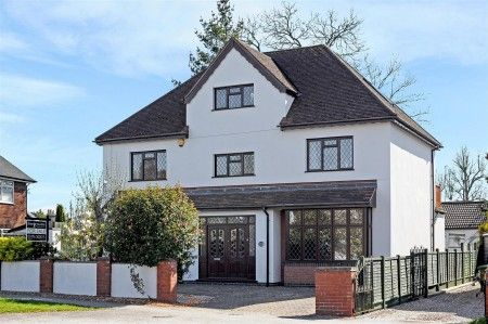Thumbnail Detached house for sale in Lutterworth Road, Nuneaton