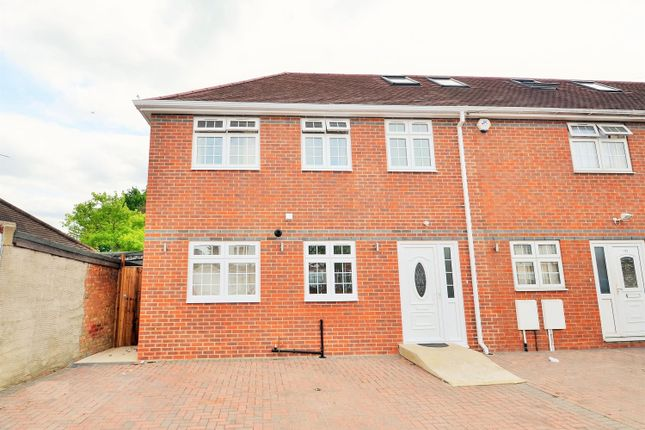 Thumbnail End terrace house to rent in Melbury Avenue, Norwood Green