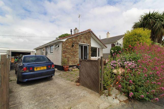 Thumbnail Detached bungalow for sale in Treza Road, Porthleven, Helston