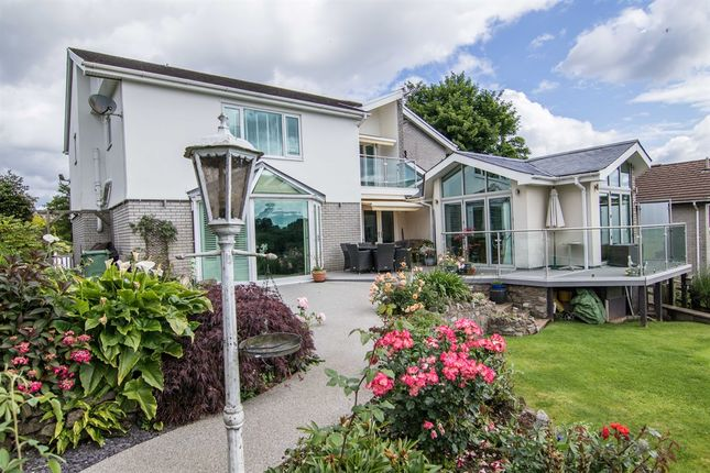 Thumbnail Detached house for sale in Cefn Llan, Penuel Road, Pentyrch