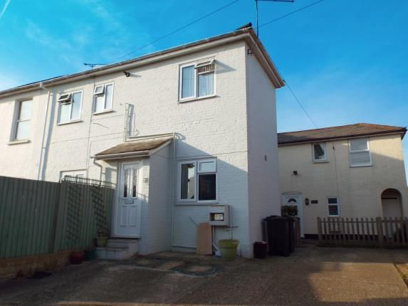 Thumbnail End terrace house for sale in Glover Road, Willesborough, Ashford, Kent