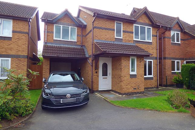 Thumbnail Detached house to rent in Baseley Way, Ash Green, Coventry