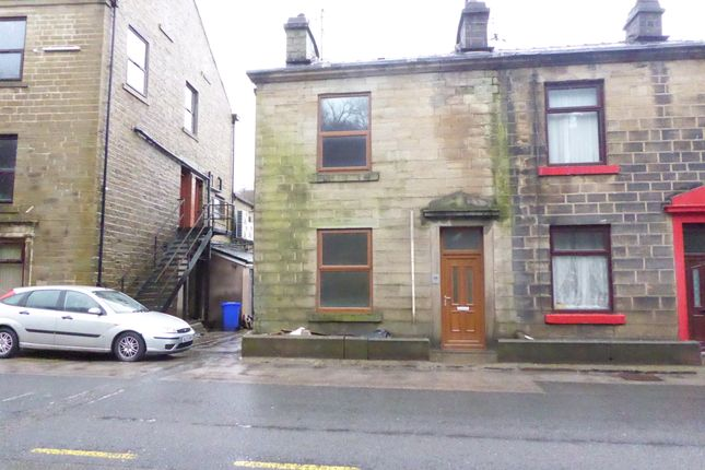 Thumbnail End terrace house to rent in Market Street, Bacup