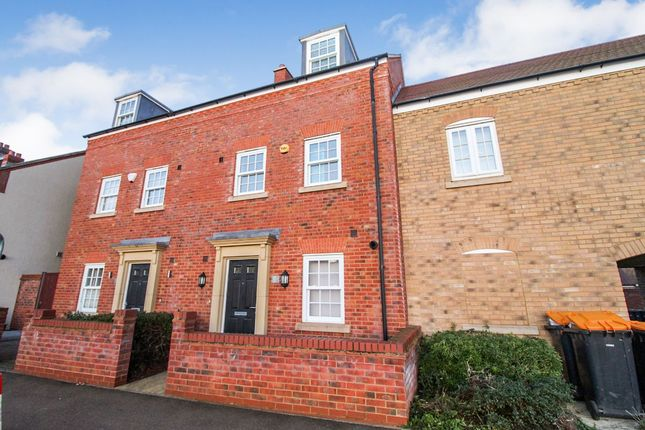 Thumbnail Town house to rent in Wilkinson Road, Kempston, Bedford