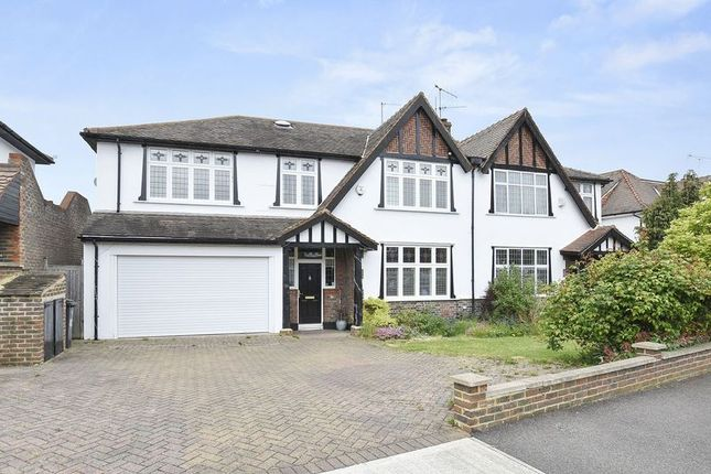 Thumbnail Semi-detached house for sale in The Ridings, Berrylands, Surbiton
