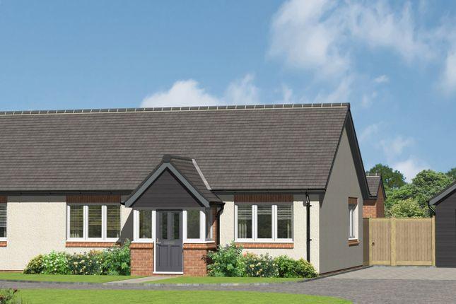 Thumbnail Detached bungalow for sale in Rush Lane, Market Drayton