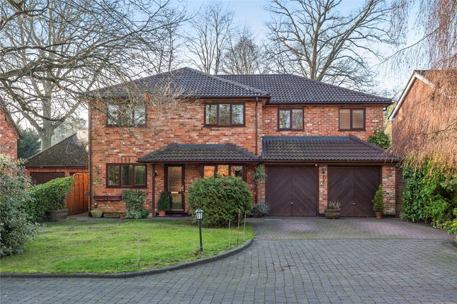 Thumbnail Detached house for sale in Bramley Court, Crowthorne, Berkshire