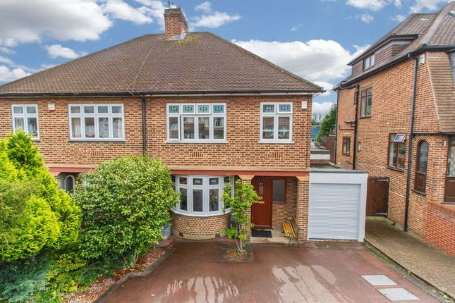 Thumbnail Semi-detached house for sale in The Greens Close, Loughton