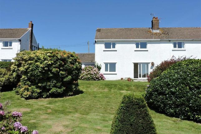 Thumbnail Semi-detached house for sale in Tor View, Penmaen, Gower