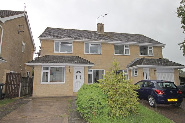 Thumbnail Semi-detached house for sale in White Horse Road, Winsley, Bradford-On-Avon