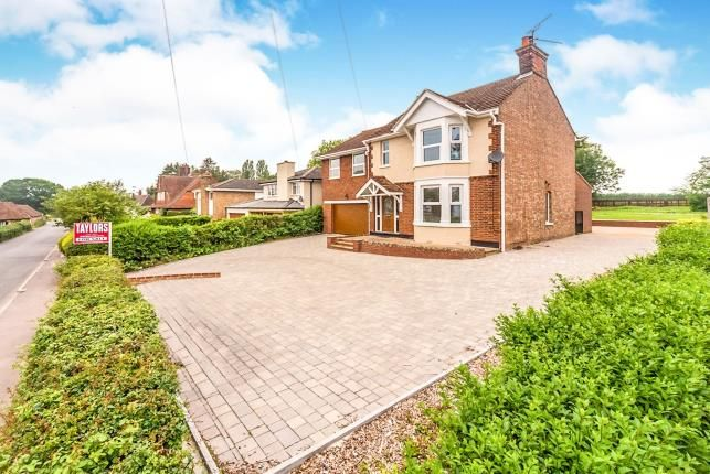 Thumbnail Detached house for sale in High Street, Oakley, Bedford, Bedfordshire
