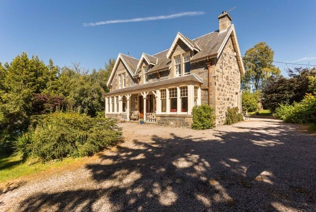 Thumbnail Detached house for sale in Ardbroilach Road, Kingussie, Highland