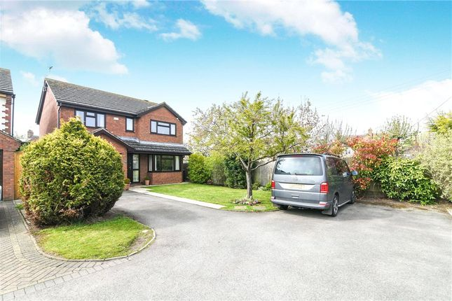 Thumbnail Detached house for sale in Fields Close, Badsey, Evesham